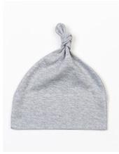 Baby One Knot Hat (Heather Grey Melange)
