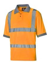 Hochsichtbares Polo-Shirt (Orange)