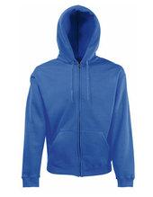 Classic Hooded Sweat Jacket (Royal Blue)
