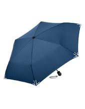 Safebrella®-LED Mini Taschenschirm (Navy Blue)
