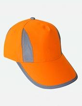 Hi-Viz-, Fluo-, Reflective-Cap (Signal Orange)