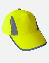 Hi-Viz-, Fluo-, Reflective-Cap (Signal Yellow)