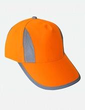 Hi-Viz-, Fluo-, Reflective-Cap /Kids (Signal Orange)