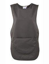 Womens Pocket Tabard (Dark Grey (ca. Pantone 431))