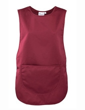 Womens Pocket Tabard (Burgundy (ca. Pantone 216))