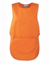 Womens Pocket Tabard (Orange (ca. Pantone 1655))