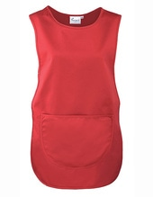 Womens Pocket Tabard (Red (ca. Pantone 200))