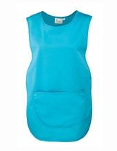 Womens Pocket Tabard (Turquoise (ca. Pantone 312))