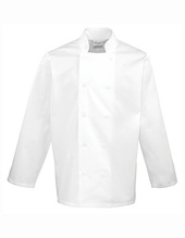 Essential Long Sleeve Chef´s Jacket (White)