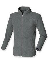 Mens Microfleece Jacket (Charcoal Grey (Heather))