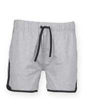 Mens Retro Shorts (Heather Grey)