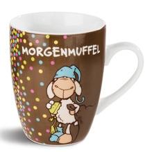 Nici Porzellantasse 'Morgenmuffel'