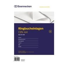 Soennecken Ringbucheinlage 2316 DIN A4 70g liniert 50 Bl./Pack.