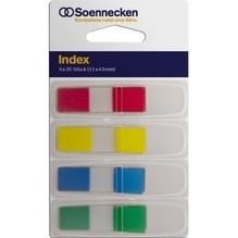 Soennecken Haftstreifen Index Mini 5824 11x43mm 35Streifen 4 St./Pack.