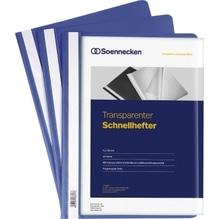 Soennecken Schnellhefter 2965 DIN A4 PP blau 10 St./Pack.