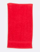 Luxury Guest Towel (Red)