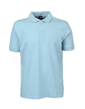 Luxury Stretch Polo (Sky Blue)