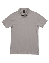 Luxury Stretch Polo (Stone)