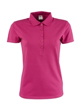Ladies Luxury Stretch Polo (Berry)