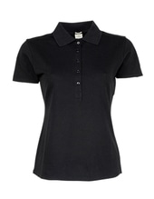 Ladies Luxury Stretch Polo (Black)
