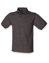 Men`s 65/35 Classic Piqué Polo Shirt (Charcoal)