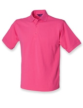Men`s 65/35 Classic Piqué Polo Shirt (Fuchsia)