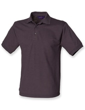 Men`s 65/35 Classic Piqué Polo Shirt (Dark Grey (Solid))