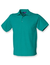Men`s 65/35 Classic Piqué Polo Shirt (Jade)