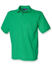 Men`s 65/35 Classic Piqué Polo Shirt (Kelly Green)
