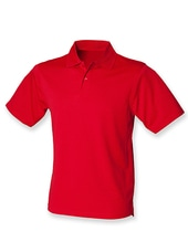 Men´s Coolplus Wicking Polo Shirt (Classic Red)