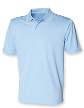 Men´s Coolplus Wicking Polo Shirt (Light Blue)