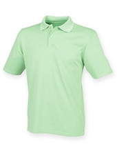 Men´s Coolplus Wicking Polo Shirt (Lime Green)