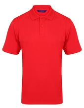 Men´s Coolplus Wicking Polo Shirt (Red)