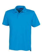 Men´s Coolplus Wicking Polo Shirt (Sapphire Blue)