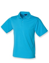 Men´s Coolplus Wicking Polo Shirt (Turquoise)