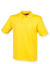 Men´s Coolplus Wicking Polo Shirt (Yellow)
