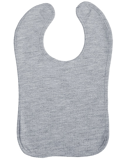 Babylätzchen Double Layer (Heather Grey)