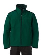 Workwear Soft Shell Jacket (Bottle Green)