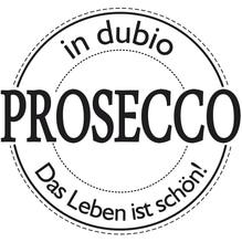 Stempel in dubio Prosecco, 6cm ø