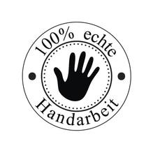 Stempel Handarbeit, 3cm ø