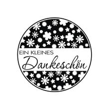 Stempel Dankeschön, 3cm ø