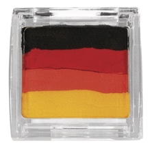Paint me Schminkfarbe, Dose, SB-Blister 10g, schwarz, rot, gelb