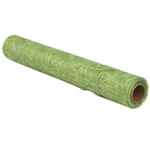 Faserseide: Modern, 30cm, Rolle 5m, h.grün
