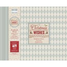 Scrapbook Album Christmas Wishes, 30,5x30,5cm, 20 Seiten