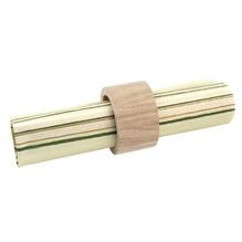 Holz-Serviettenring, 3,8/5 cm ø, Höhe 3 cm, SB-Btl. 2 Stück