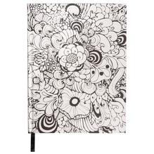 Tangle Notizbuch Orchid,FSC Mix Credit, 15,9x20,9cm, 80 Blatt, 110g/m², weiß