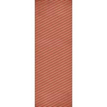 Geschenkpapier Rolle Kraft - Streifen, 70x200cm, 70g/m2, klassikrot
