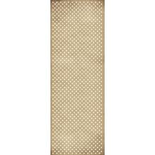 Geschenkpapier Rolle Kraft - Sterne, 70x200cm, 70g/m2, weiß