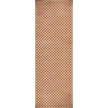 Geschenkpapier Rolle Kraft - Herzen, 70x200cm, 70g/m2, klassikrot