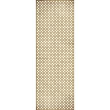 Geschenkpapier Rolle Kraft - Punkte, 70x200cm, 70g/m2, weiß